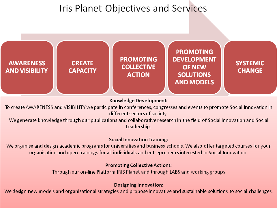Our Services Innovation For Change